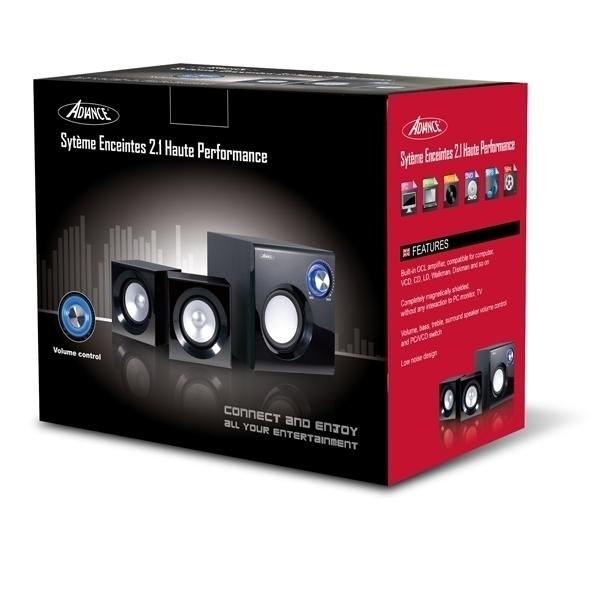 SoundPhonic 2.1 - 8W RMS