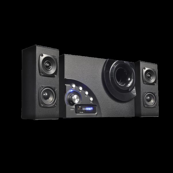 SoundPhonic 2.1 Radio FM - 34W RMS