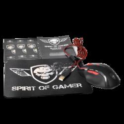 Souris Spirit Of Gamer ELITE M-8 + Tapis de souris