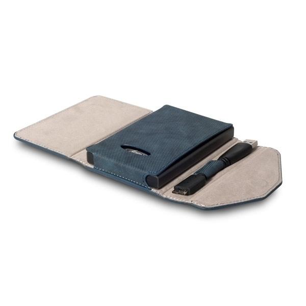 """Boitier HDD 2,5"""" SATA Smartdisk jean USB 3.0"""